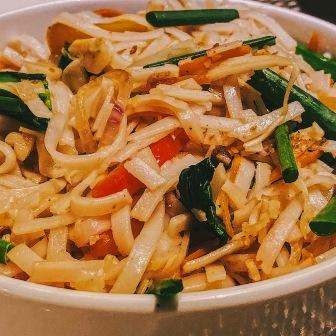 Stir Fried Flat Noodles
